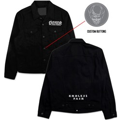 Kreator - Mens Custom Denim Jacket