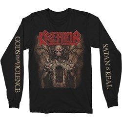 Kreator - Mens God'S Of Violence Long Sleeve T-Shirt