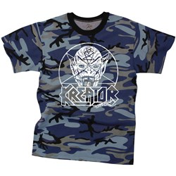 Kreator - Mens Pentagram Demon Camo T-Shirt