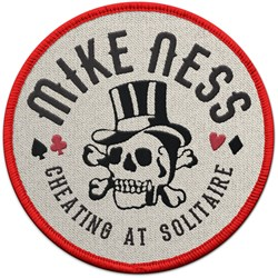 Mike Ness - Cheating At Solitaire Patch