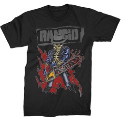 Rancid - Mens Chainsaw Skele-Tim T-Shirt