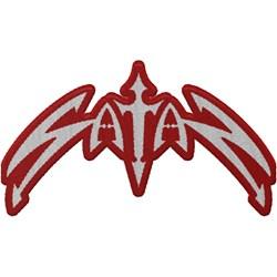 Satan - Classic Logo Die Cut Patch