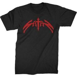 Satan - Mens Classic Logo T-Shirt