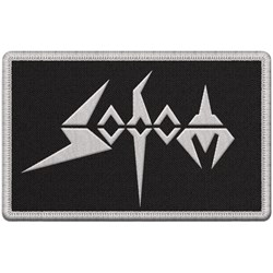 Sodom - White Logo Patch