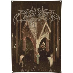 Wolves In The Throne Room - Thrice Woven Flag (34X50)