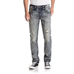 Rock Revival - Mens Norwell A200 Straight Jeans With Flap
