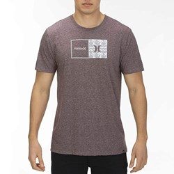 Hurley - Mens Siro Natural Print T-Shirt