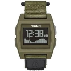 Nixon - Mens Base Tide Nylon Digital Watch