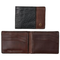 Nixon - Mens Cape Leather Slim Wallet