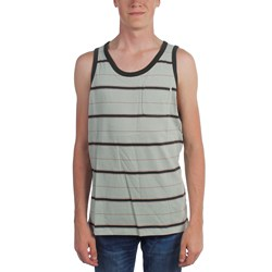Hurley - Mens Dri Fit Harvey Stripe Tank-Top