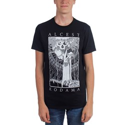 Alcest - Mens Kodama Faces/Skull T-Shirt