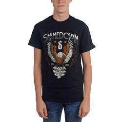 Shinedown - Mens Heavy Landing T-Shirt