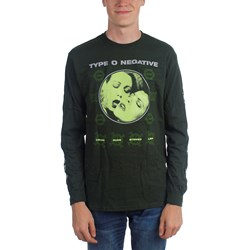 Type O Negative - Mens Crude Gears Long Sleeve