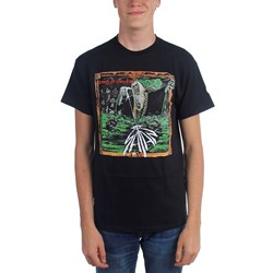 Satan - Mens Court In The Act Album T-Shirt