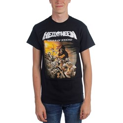 Helloween - Mens Walls Of Jericho T-Shirt