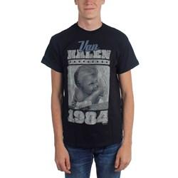 Van Halen - Vintage Baby Jumbo Adult T-shirt In Navy