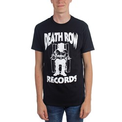 Death Row - Mens Deathrow White Logo T-Shirt