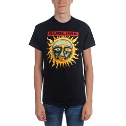 Sublime - New Sun Adult T-Shirt in Black