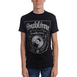 Sublime - Bottled In Lbc Mens T-Shirt In Black