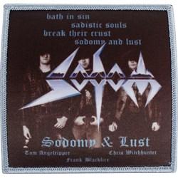 Sodom - Sodomy & Lust Patch