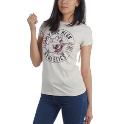 True Religion - Womens Athletic Buddha Crew T-Shirt
