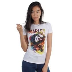 Bob Marley - Womens Watercolor T-Shirt
