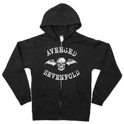 Avenged Sevenfold - Mens Deathbat Hoodie