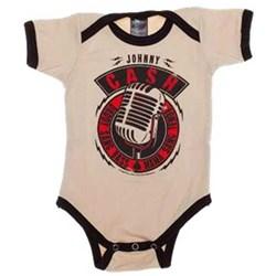 Johnny Cash - Unisex-Child Microphone Onesie