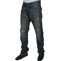 True Religion - Mens Geno Triple Needle