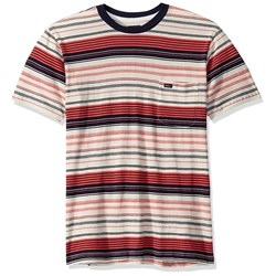 RVCA - Mens Deadbeat Stripe Knit Short Sleeve T-Shirt