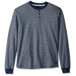 RVCA - Mens Lavish Henley Knit Long sleeve T-Shirt