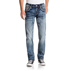 Rock Revival - Mens Naethan A201 Alternative Straight With Fake Flaps