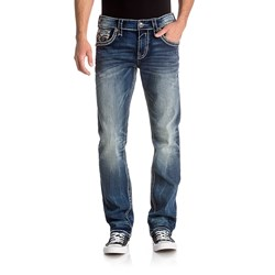 Rock Revival - Mens Dayne J201 Straight Jeans