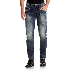 Rock Revival - Mens Milton A205 Alternative Straight With Fake Flaps