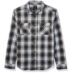 RVCA - Mens Hostile Flannel Woven Long Sleeve