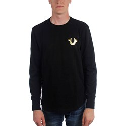 True Religion - Mens Metallic Long Sleeve T-Shirt