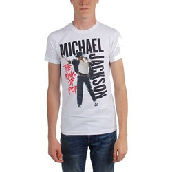 Michael Jackson - Mens Mj King Of Pop T-Shirt