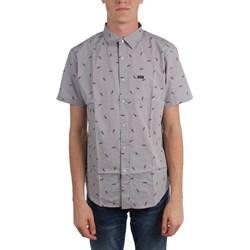 Brixton - Mens Charter Print S/S Woven Shirt