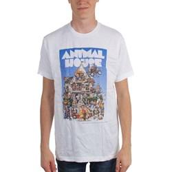 Animal House - Mens Big Mommas House T-Shirt in White