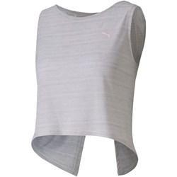 Puma - Womens Studio Crop Lace Tank