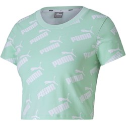 Puma - Womens Amplified Aop Fitted Tee
