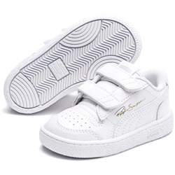 PUMA - Unisex-Baby Ralph Sampson Lo with Fastner Shoes