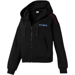 PUMA - Womens Chase Cropped Fz Hoody
