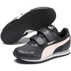 PUMA - Unisex-Baby Cabana Racer Glitz V Pre-School Shoes