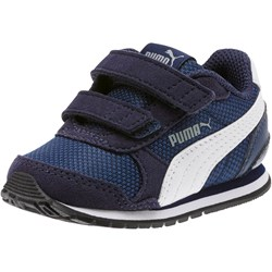 PUMA - Unisex-Baby St Runner V2 Mesh with Fastner Shoes