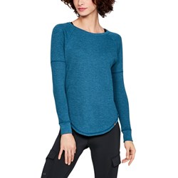 Under Armour - Womens Waffle Crew Long-Sleeves T-Shirt
