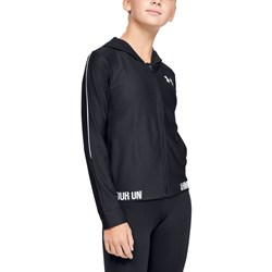 Under Armour - Girls Play Up Full Zip Warmup Top