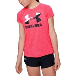 Under Armour - Girls Big Logo Twist T-Shirt