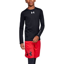 Under Armour - Boys Coldgear Armour Long-Sleeve T-Shirt