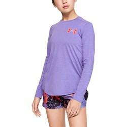 Under Armour - Girls Armour Hg Long Sleeve Long-Sleeves T-Shirt